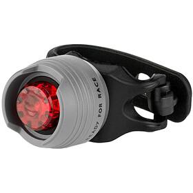 Cube RFR Diamond HQP Lampada di sicurezza LED rosso, nero/grigio